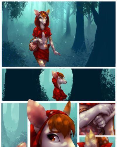 Celeste Little Red Riding Deer WIP