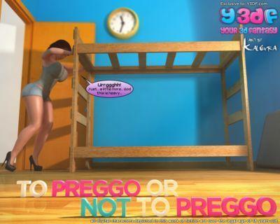 Y3DF - To Preggo or Not to Preggo