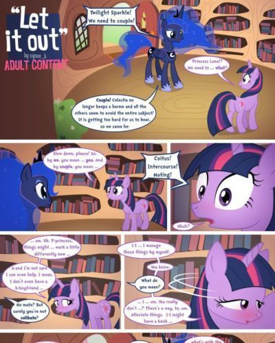 [syoee_b] Let It Out (My Little Pony: Friendship Is Magic)