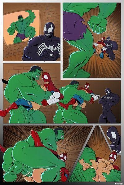 Spidey VS Hulk