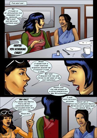 Savita at 18 5 - Savita For President - part 2