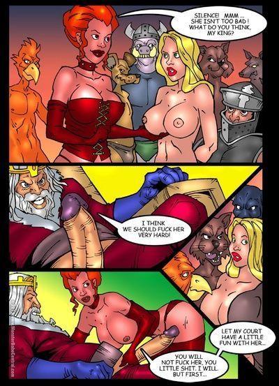 爱丽丝 在 monsterland 7 - 的 女王 的 hech