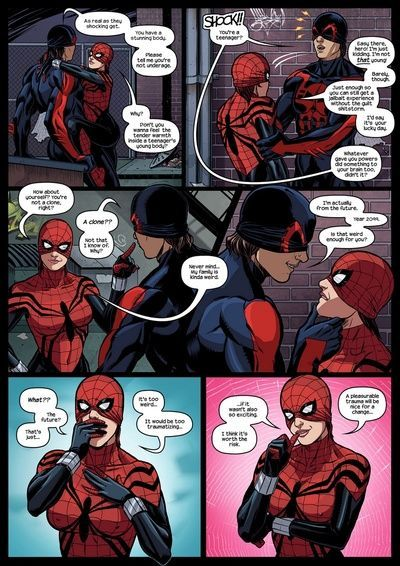 Like Spider-Father, Like Spider-Daughterch