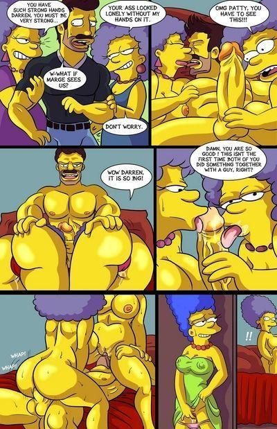 Порно симпсон комикс