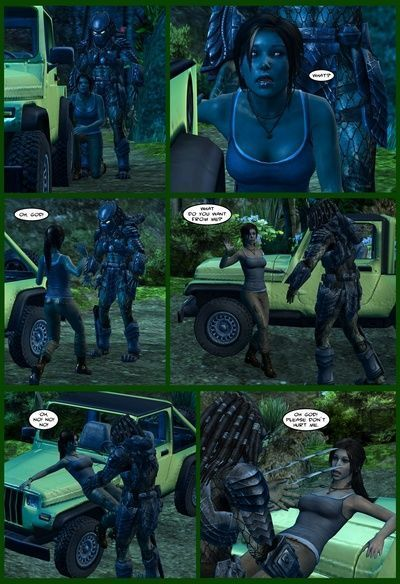 Lady and Cop VS Penetrator 1 - part 2