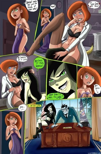 Kimmie and Shego