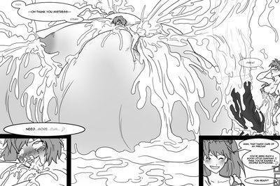 Asuka and Rei Futanari