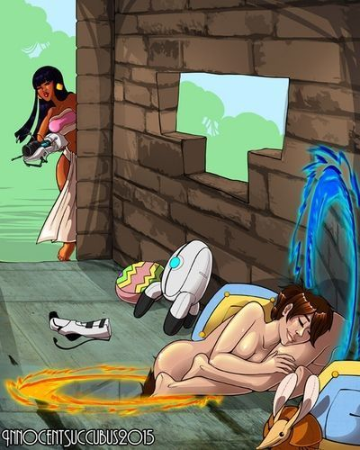 Chel And Chell Play With Portals