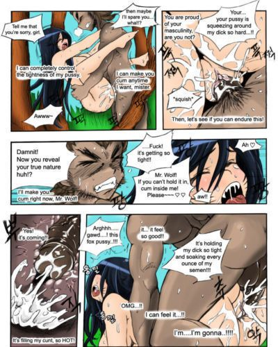 [KimMundo] The Wolf and the Fox (League of Legends) [English] {halftooth} - part 4