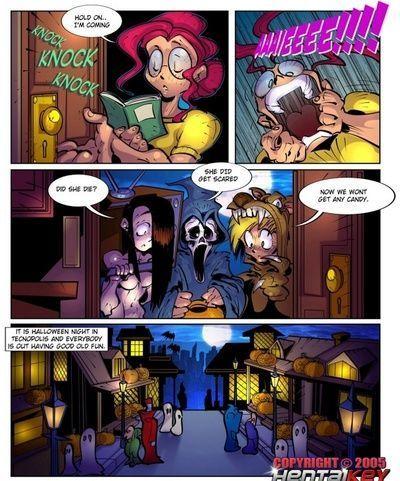 Lilly Heldin 6 - glücklich halloween