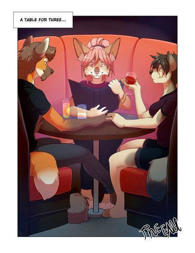 Furry Bi- Table for Three - part 2