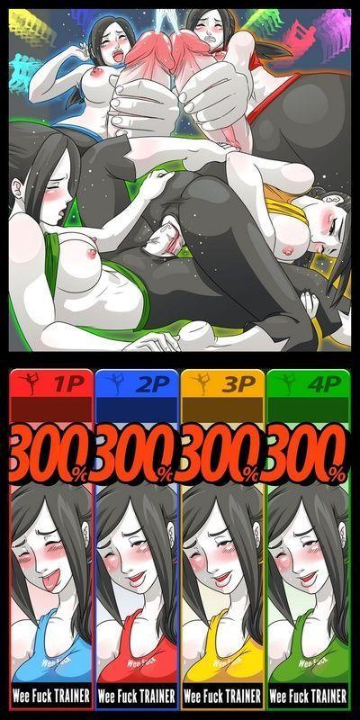 Супер сексуальные битва Зеркало матч 3