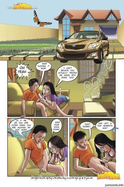развратные комиксы