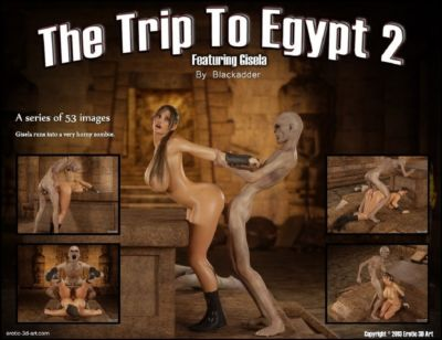 Trip to Egypt 2- Blackadder
