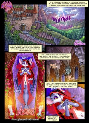 Scarlet Blut 1 - To Save The Castle