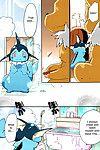 Azuma Minatu Epic plan for an exciting bath! (Pokémon) Colorized {SuperRamen}