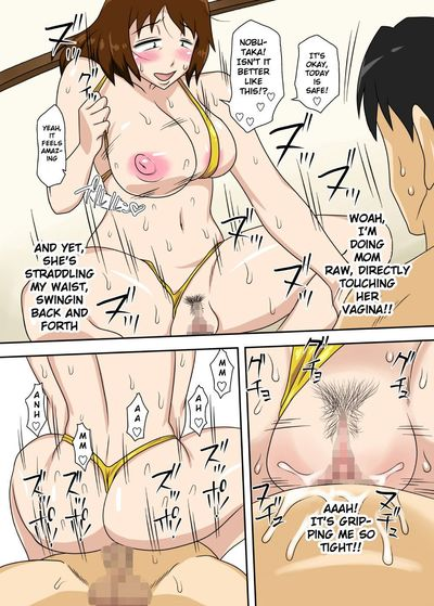 [Freehand Tamashii] Toiu wake de, Zenra de Kaa-san ni Onegai shite mita. - For this reason, while naked, I tried to..