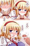 (C81) [Tonkotsu (Sekiri)] Alice-chan ni Nakadashi Shitai! - I Want to Ejaculate Inside Alice! (Touhou Project)  {pesu}