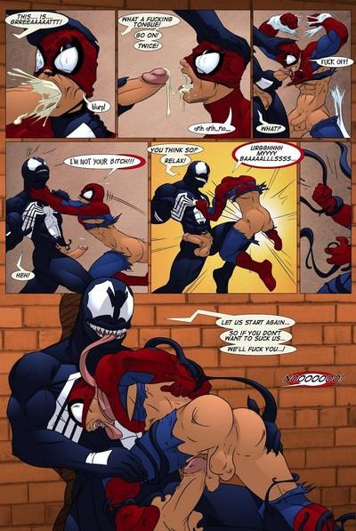 Человек паук гей комиксы