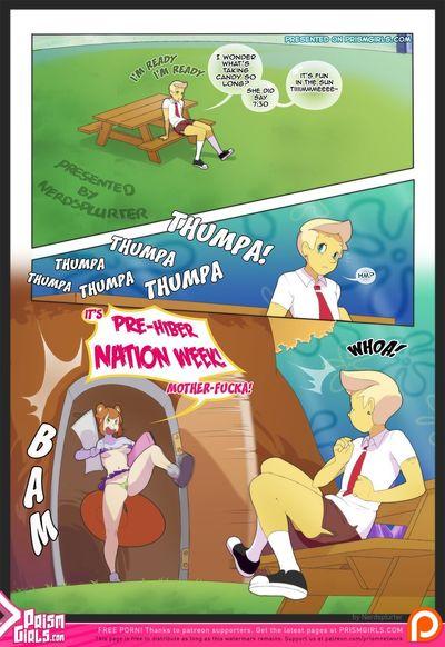 [Prism Girls (Nerdsplurter)] Pre-Hibernation Week (Spongebob Squarepants)