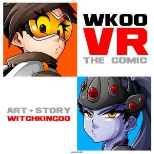 vr คน :การ์ตูน: overwatch witchking