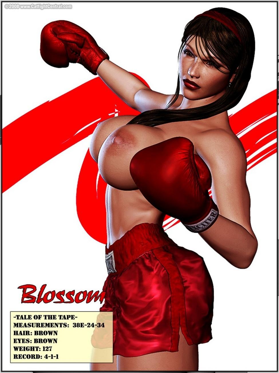 Foxy Boxing 1 - Blossom Vs Julie - Roundch