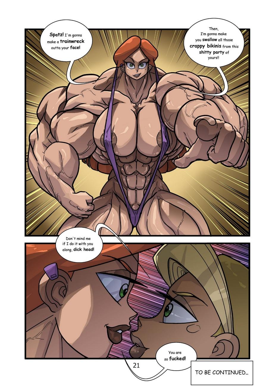 Kartoon Warz 2 - Bikini Party - part 2