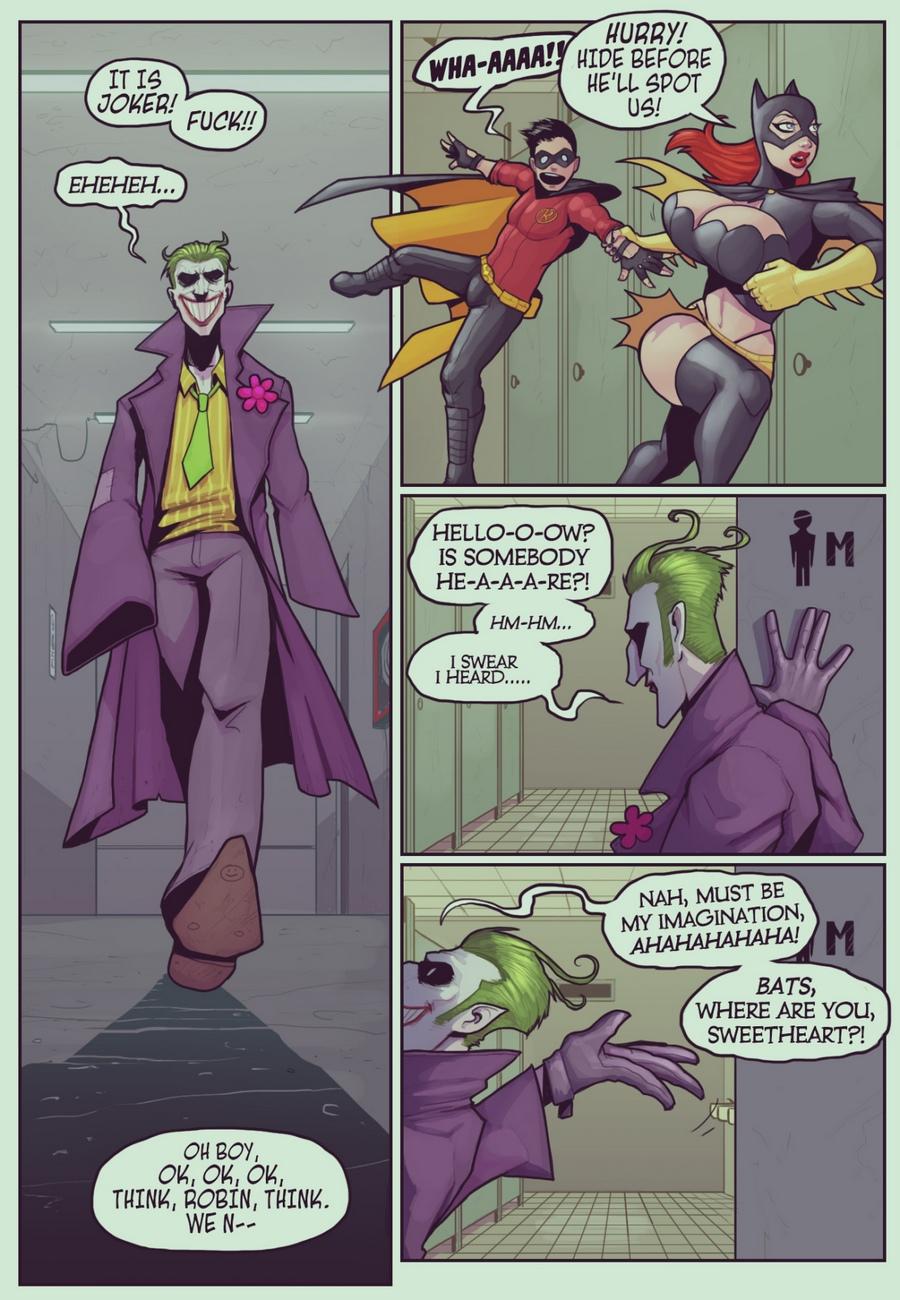 Ruined Gotham - Batgirl Loves Robin