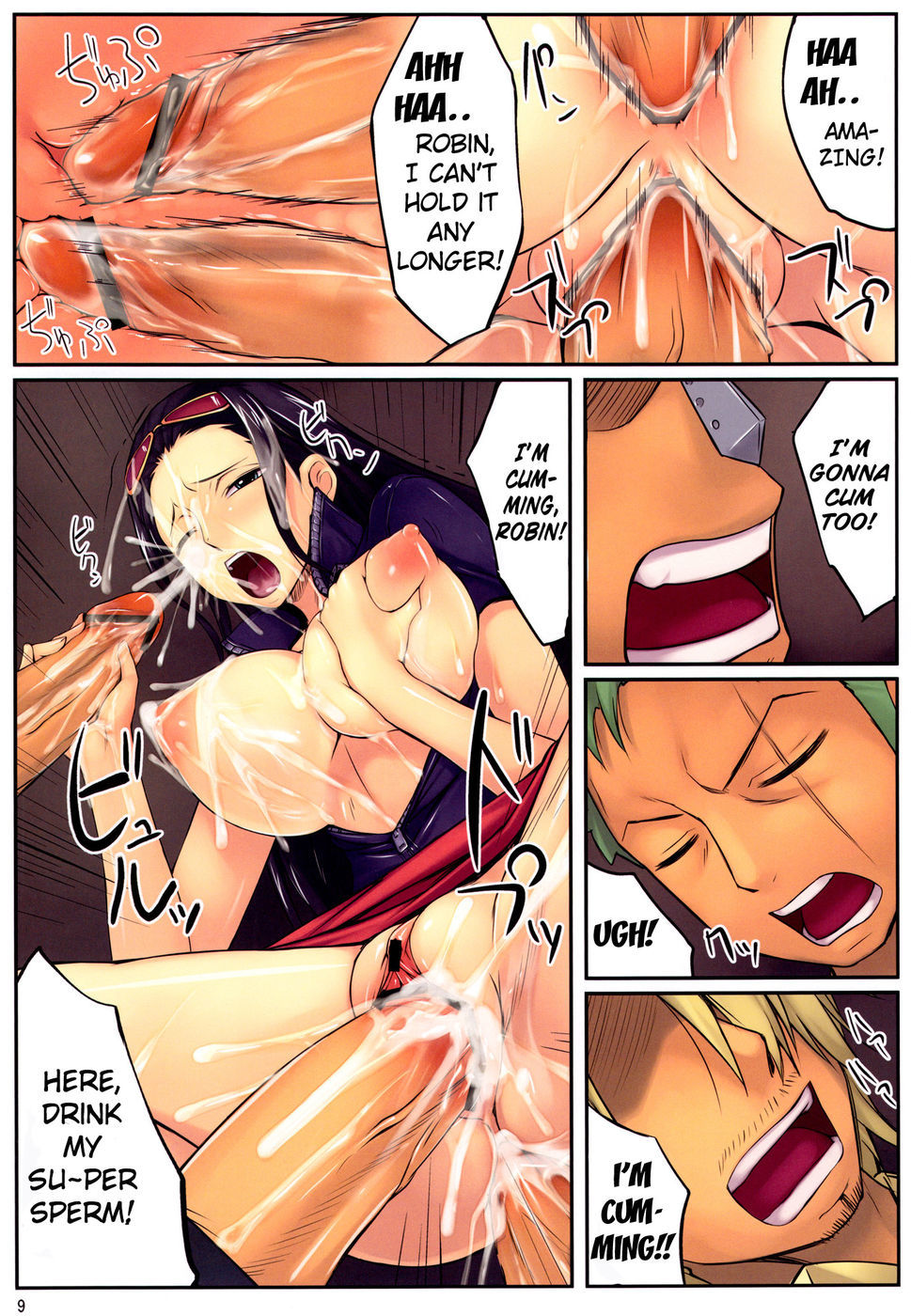 (C82) [Tenburi (Amei Sumeru)] ROB (One Piece)  {doujin-moe.us}