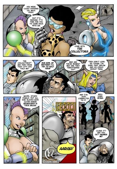 комикс групповуха