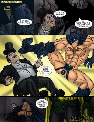 Порно гей комикс бэтмен