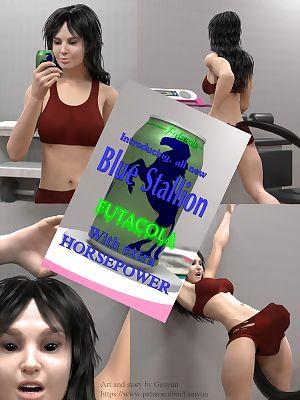 futacola синий жеребец