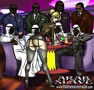 Arab Slave- illustrated interracial