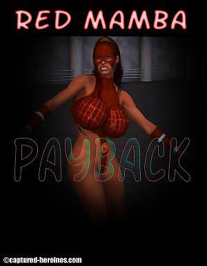 Captured Heroines- Red Mamba – Payback