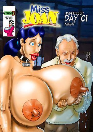 miss Joan se desnudó día 01- La noche