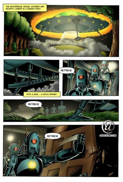 Alien Abduction 1 - Unexpected Visitors
