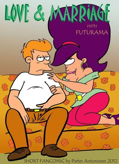 futurama - 사 고 결혼