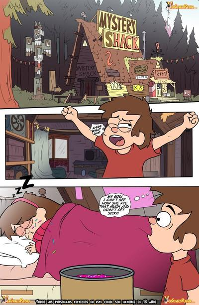 Gravity Falls- One Summer of Pleasure Book 2