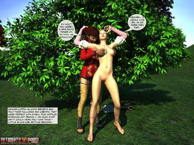 Alicia in the wonderland. Part 1 - part 2