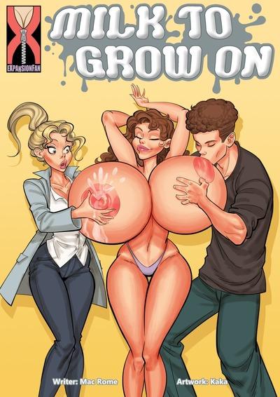 우유 하기 성장 에 expansionfan
