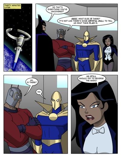 Справедливости Лига В отличное Скотт сага 3 - часть 5