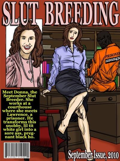 Slut Breeding 3 and 4- illustrated interracial