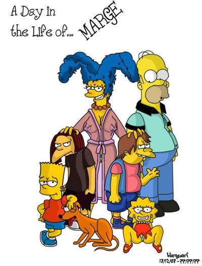A Day in Life of Marge (The Simpsons)