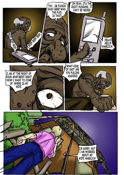 The Doll- Illustrated Interracial - part 2