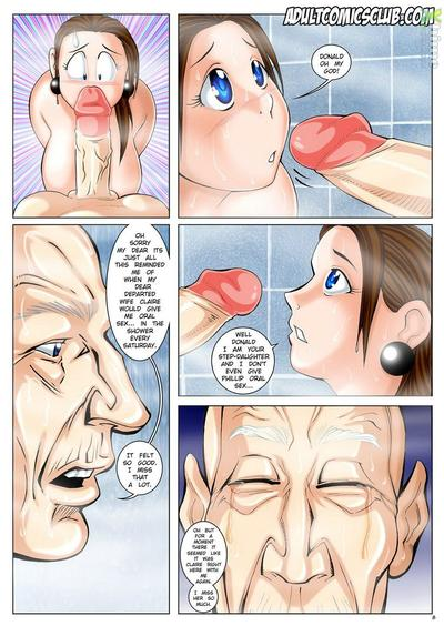 The Horny Step Father- Melkormancin