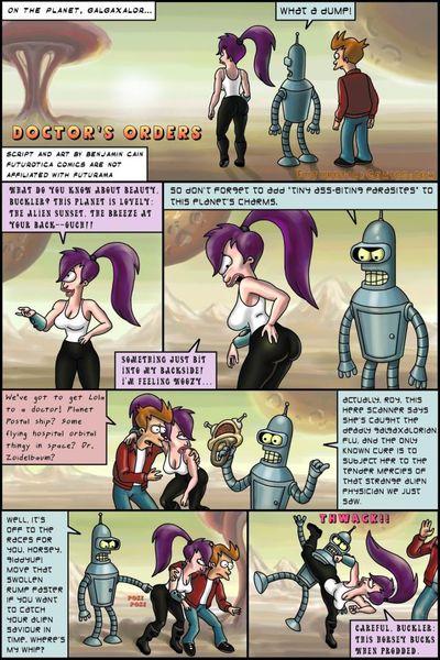 Futurama- Doctor\