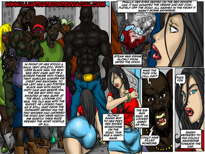 Donna- illustrated interracial