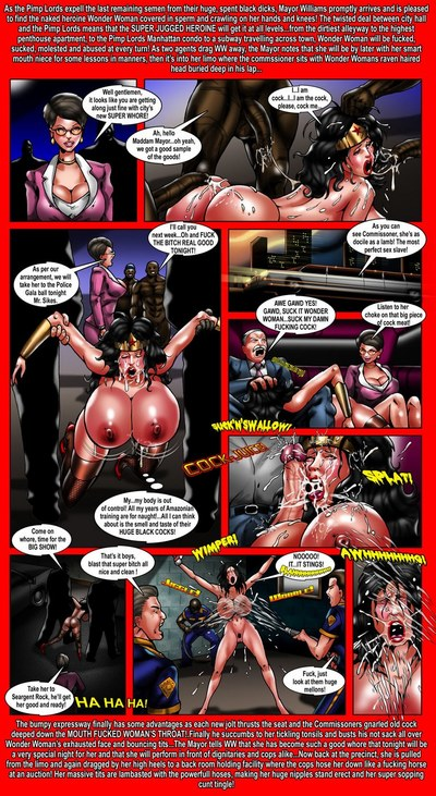Wonder Woman Super Juggs In Exile - part 2