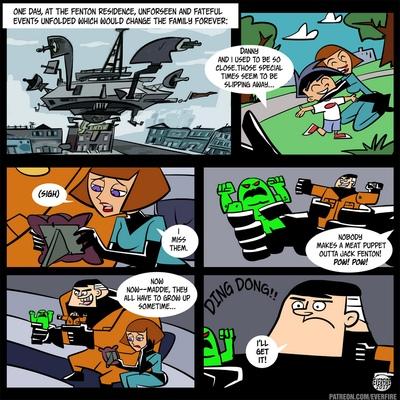 Danny Phantom - un erotico parodia