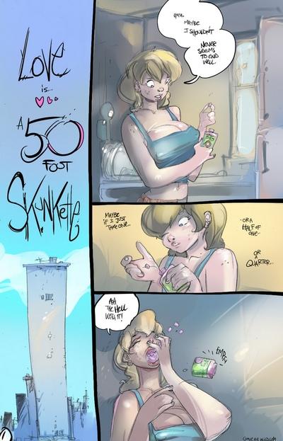 愛 は a 50 足 skunkette